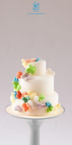 Minicake volo delle #farfalle #minicake #wedding #handmade #creocreativa