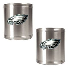 Philadelphia Eagles Stainless Steel Can Drink Holders
