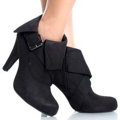 Love these!!!   Fold over booties