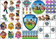 Paw Patrol Free Printable Kit. | Oh My Fiesta! in english