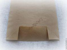 Делаем подарочные пакеты из крафт-бумаги - Ярмарка Мастеров - ручная работа, handmade