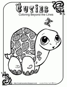 Cuties Coloring Pages Printable Beautiful Quirky Artist Loft Cuties Free Animal Coloring Pages Planet Coloring Pages, Turtle Coloring Pages, Alphabet Coloring Pages, Animal Coloring Pages, Coloring Book Pages, Printable Coloring Pages, Colouring Sheets, Free Adult Coloring, Coloring Pages For Kids
