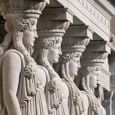 Caryatid Columns. Museum of Science and Industry, Chicago, IL