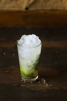 How to Blanch Herbs for Syrups + a Mojito on Food52