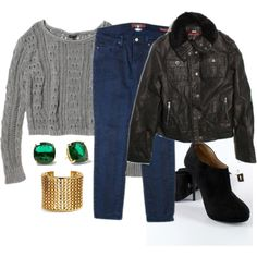Cute Winter Outfit   #thredUPHolidayStyle