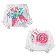Butterfly and Snail Bloomers $15.75