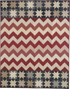 Stars & Chevrons quilt pattern