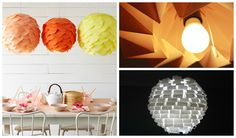 Paper lamp can be very stylish and modern piece that will make your home interesting place to live. There are a lot of paper lamps ideas that you can make