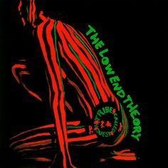 """""""The Low End Theory"""" is the second album by American hip hop group A Tribe Called Quest. Fusing hip hop with laid back jazz, this album was considered and instant classic and has a minimalist sound stripped to the essentials of vocals, drums and bass. Rap Album Covers, Greatest Album Covers, Iconic Album Covers, Rap Albums, Hip Hop Albums, Best Albums, Greatest Albums, Music Albums, Tribe Called Quest Albums"""
