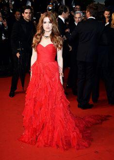 Festival Internacional de Cine de Cannes 2013 alfombra roja red carpet photocall - Isla Fisher