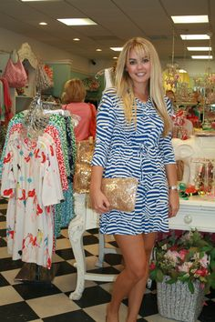 great dresses with the perfect clutch.  both at snappy.