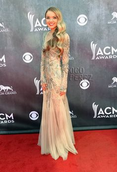 Danielle Bradbery Charms Country Fans As A Glittering Mermaid At The ACM Awards!