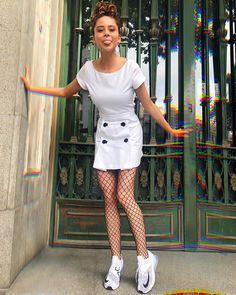 Camila Gallardo, Shirt Dress, T Shirt, Casual Outfits, Skinny, Celebrities, Ahs, How To Make, Beaches