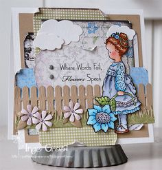 Wonderful card - beautiful sentiment....by Inge