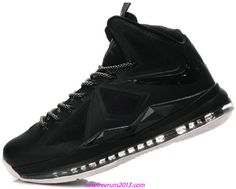 Lebron 10 Lebron James Shoes 2013 All Black Everything