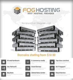 Fog Hosting offers professional web hosting and IT solution to individual and businesses. Since 2012, company has been providing premium and reliable hosting solutions to businesses, personal and organization around the world. As an experienced web host, they offer cost effective and secure web hosting backed by years of experience professionals. Services include shared, reseller hosting, cloud VPS and dedicated server.