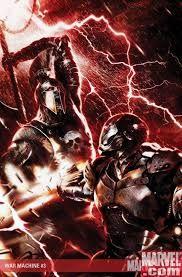 War Machine Cover: War Machine and Ares by Gurihiru Marvel Comics Poster - 61 x 91 cm Comic Book Villains, Marvel Comic Books, Comic Books Art, Marvel Comics, Comic Art, Marvel Art, Marvel Characters, Chicano, Iron Man