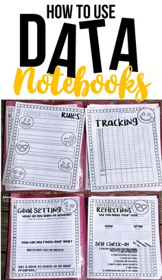 How to use data notebooks to boost scores and classroom community culture. Perfect for back to school, classroom organization, and parent teacher conferences. #backtoschool #datanotebook #classmanagement