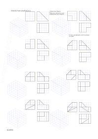 losmuertosdeldiedrico: PERSPECTIVA ISOMÉTRICA 1º BACHILLERATO Isometric Drawing Exercises, Orthographic Drawing, Technical Drawing, Autocad, Drawings, Gd, Dibujo, Baccalaureate, School