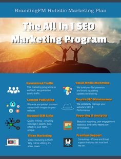 All In 1 SEO Marketing Program: This program was designed for the small business owner that wanted a little bit of everything for a fair price.   After many frustrating nights we were able to offer something truly unique.   This service is produced and performed on strategy, and also