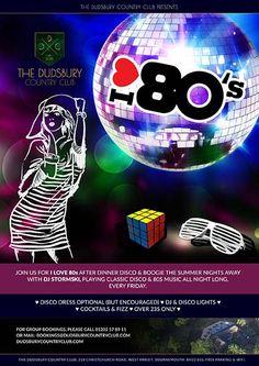 I L♥VE 80s Fridays 80s Music, Random Acts, Summer Nights, Acting, Dj, Encouragement, Cocktails, Friday, Club