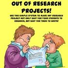 Just the thought of doing a research project is enough to send some students into a permanent state of shock, (and fill teachers with dread!). End ...