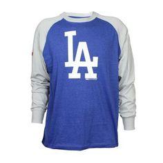 Stitches Men's Los Angeles Dodgers Colorblock Raglan Tee $17.50