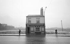 Lonely Pub. Yorkshire, England (1964) | Photographer: John Bulmer © | Via: Beetles & Huxley