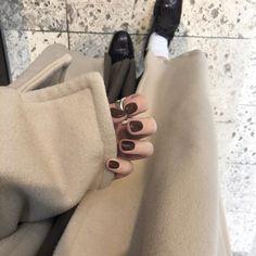Cute Korean Fashion, Purple Nails, Mode Hijab, Asian Style, Beauty Women, Nail Art Designs, Manicure, Delicate, Nail Polish
