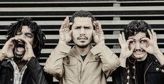 A banda, que está prestes a lançar o terceiro disco, faz a festa no domingo, ao ar livre