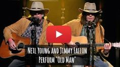 Watch Jimmy Fallon and Neil Young Perform Old Man (Epic) via geniushowto.blogspot.com amazing music videos