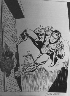 Stan Lee Spiderman, Spiderman Art, Amazing Spiderman, Spiderman Stencil, Comic Book Artists, Comic Artist, Comic Books Art, Avengers Coloring Pages, Superhero Coloring
