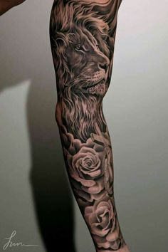 Full cool sleeve tattoo