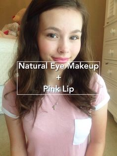 How to Create a Natural Eye Makeup Look With a Bold Lip