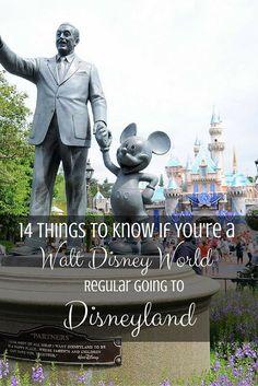 14 Disneyland Tips Every Walt Disney World Regular Needs to Know