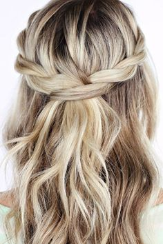 Braids, wispy textures, and loose waves.