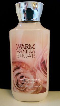 Bath & Body Works Warm Vanilla Sugar Body Lotion Hand Cream Skin Care Moisture  #BathBodyWorks