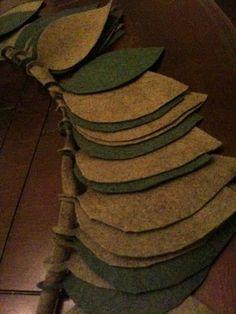 I want to make this Christmas garland.