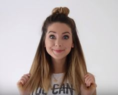 Half Up-do Top Knot, Zoella
