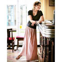 EFFE BEAMS|Marisol 2013/5月  【清原亜希コラボ】2WAYマキシスカート  No.097553  Size/F  Color/ダスティピンク・カーキ・ネイビー  ¥18,900
