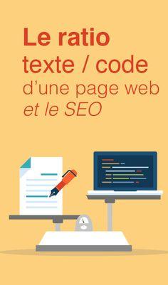 Le ratio texte / code d'une page web et le SEO - Article du blog de www.resonancecommunication.com agence web à Carcassonne