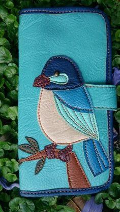 Billeteras Birds en Eco Cuero III
