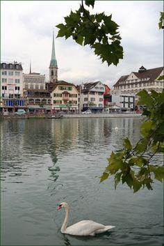 Autumn in Zurich. Switzerland