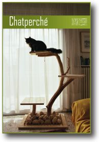 1000 images about maison on pinterest cat trees ligne roset and cat beds - Arbre a chat bois naturel ...