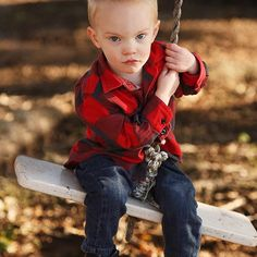 @ambernkinder oh so serious two year old Riggs #fallfashion #babymodel