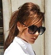 Victoria Beckham Hair - Ponytail
