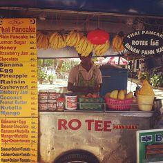 Thai Banana pancake - @transformbyjoe- #webstagram
