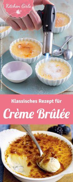 Rezept für Crème Brûlée