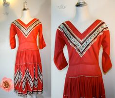 Vintage ROCKABILLY 1950s Western Patio Squaw by citizenrosebud, $120.00
