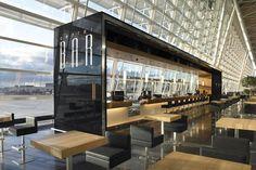 Center Bar, Zurich Airport by Detail Design: